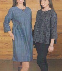 PATTERN - Katelyn's Dress Tunic & Top - women's sewing PATTERN - Indygo Junction