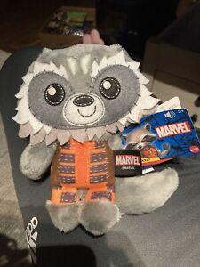 Rocket Raccoon Guardian Of The Galaxy Plush Sounds Talking Marvel Mattel