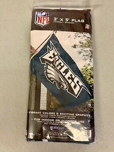 Wincraft Factory Sealed Philadelphia Eagles 3'x5' Horizontal Team Flag Decor