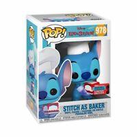 Lilo & Stitch - Stitch as Baker NYCC 2020 US Exclusive Pop! Vinyl [RS] -FUN50...