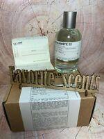 Le Labo Bergamote 22 Eau De Parfum EDP 100 ml 3.4 fl.oz Unisex U.S.A. * New *