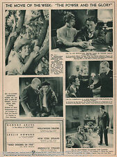 Movie Review of The Power And Glory w Spencer Tracy 1935