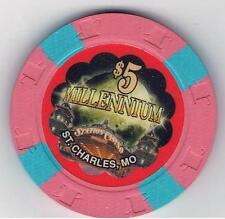 $5.00 Station Casino millennium Chip. ST, Charles, MO.