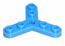Missing Lego Brick 32125 Blue Technic Rotor 3 Blade with 6 Studs