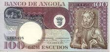 ANGOLA 100 es 1973 NEUF UNC