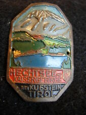 Hechtsee mit Kaisergebirge bei Kufstein Tirol stocknagel hiking medallion G4581