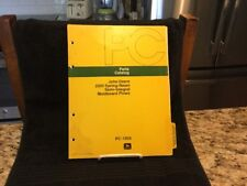 Vintage 1977 John Deere Parts Catalog 2500 SpringReset Moldboard Plows - Pc-1505