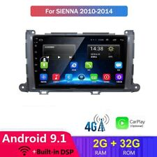 4G Android 9.1 For Toyota Sienna 2010-2014 Navi System Radio car DVD player GPS