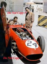 Cliff Allison Ferrari Dino 246 Argentine Grand Prix 1960 Photograph 1