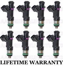 Oem Genuine Bosch Set Of 8 Fuel Injectors For Nissan Armada Titan 56l