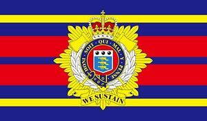 ROYAL LOGISTIC CORPS FLAG 5' x 3' RLC Regimental British Army Armed Forces