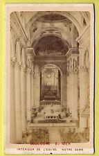 CDV - Boulogne Sur Mer, Notre Dame. Interieur de L'Eglise