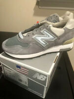 New Balance M1400SB Steel Blue Grey Running Shoes Size 6 'Made In USA'