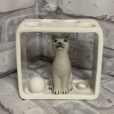 Cat Toothbrush Holder One Home