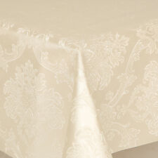 THICK BACKED ALL OCCASIONS TABLE CLOTH / PROTECTOR  EMBOSSED ELEGANT WIPEABLE