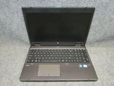 HP PROBOOK 6570B 3110M Intel Core i3 2.4GHz 4GB RAM No Caddy, No Battery