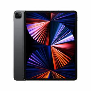 Apple iPad Pro 5th Gen 512GB, Wi-Fi + 5G (Unlocked), 12.9 in - Space Grey