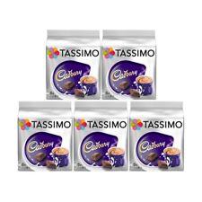 Tassimo Cadbury Hot Chocolate 5 Pack - 40 Drinks Brand New and Sealed
