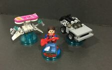Lego Dimensions Back To The Future Marty Mcfly Level Pack 71201