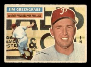 1956 Topps Set Break # 275 Jim Greengrass EX *OBGcards*