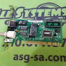 SMC1208BT EZ Card 10 Mbps Ethernet PCI Network Card RJ-45 BNC Network Card