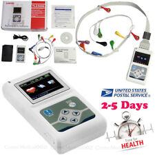 TLC5000 Dynamic ECG System ECG/EKG Holter 12 Channel 24h ANALYZER/RECORDER
