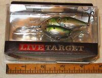 Koppers LiveTarget Bait Ball Lure 2 1/2 in 5/8 oz Metallic Green NEW