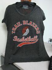Portland Trail Blazers, Women's V-neck, short sleeve Tee, size L