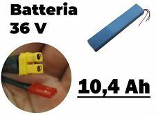 Batteria monopattino elettrico 36V - 10.4 Ah - Viola bike Xiaomi e similari