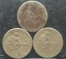 1930,1932,1935 M Mint Mark Usa/phil 5 Centavos Coin