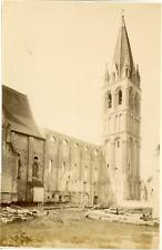 ND, France, Beaulieu lès Loches, Ancienne Eglise Abbatiale de Beaulieu  Vintage