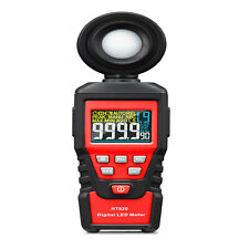 Digital Lcd Lux Light Meter With 0200000lux Luminance Tester Handheld Led