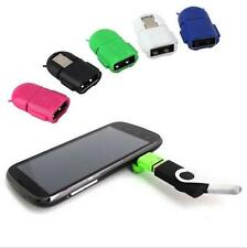 OTG Adapter Micro USB To USB 2.0 Converter For Samsung Galaxy Sony Android Robot