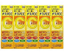 Rohto Melano CC Intensive Anti-Spot Essence 20ml Vitamin C/E Bulk Buy 5 Set F/S