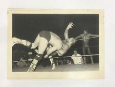 ARN ANDERSON Photo (1992 DDT Dustin Rhodes w/ Dusty Rhodes & Ricky Steamboat)