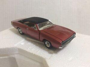 Franklin Mint 1968 Dodge Charger Die cast Metal 1/43