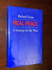 President Richard Nixon Signed Limited Edition Real Peace Book