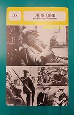 Irish-American film director John Ford French Trade Card
