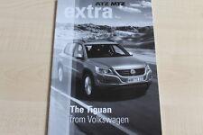 160724) VW Tiguan ATZ MTZ extra - USA? - Prospekt 09/2007