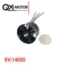QX 30mm EDF 6 Blades 14000KV Brushless Motor QF1611 for RC mini Drone Quadcopter