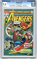Avengers #132 CGC 9.4 NM  Off wht- wht pgs Kang, Rama Tut & Legion of Unliving