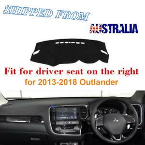 RHD Dashboard Dash Mat Dash Cover NoN-Slip For Mitsubishi Outlander 2013-2020