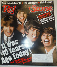 Rolling Stone Magazine The Beatles John Lennon February 2004 031115R