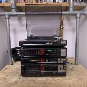 Sony Hi-Fi PS-LX330P Turntable TA-V11 Amplifier, TC-V11 Cassette Deck & Tuner