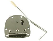 JAZZMASTER JAGUAR Vintage Tremolo Vibrato Tailpiece Fender Squier Chrome + Arm