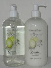 Crabtree & Evelyn 16.9 oz 500mL Shampoo Conditioner CITRON HONEY & CORIANDER