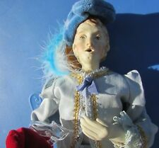 "Artist Doll Prince Charming Francesca Terra Cotta Porcelain Hand Sculpted 16"""