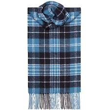 Lochcarron Of Scotland 100% LANA D'AGNELLO Clark antico clan Tartan Sciarpa Nuovo & Etichette