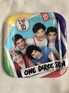 One Direction Dessert Plates
