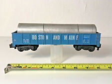 American Flyer Gondola Car with Metal Pipe - A C Gilbert New Haven Conn - Cool!